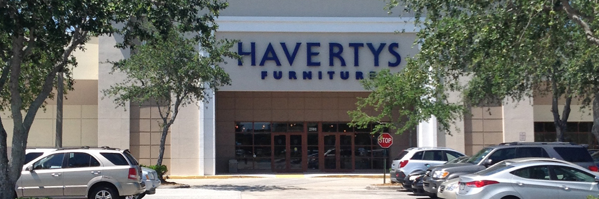 Haverty's at Westward Shopping Center